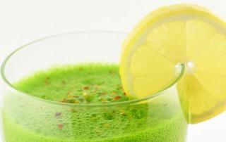 De groene motor smoothie