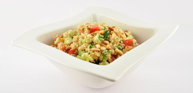 Verfrissende quinoa salade
