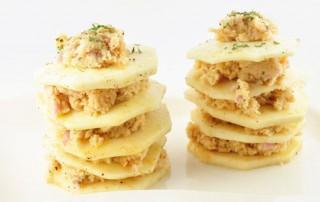 Open lasagna van knolselderij