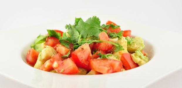 salade recepten met avocado