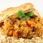 Indiase curry van aubergine (Baingan ka Bharta)