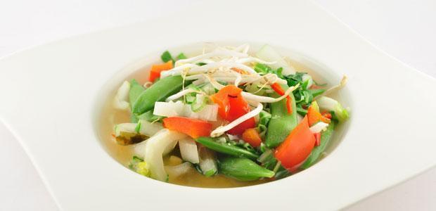 Miso soep (rijk gevuld)