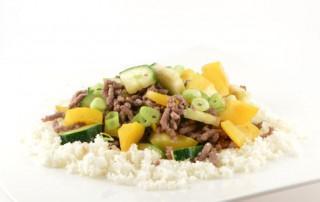 gehaktschotel met couscous van bloemkool