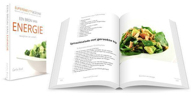 Receptenboek Een Bron Van Energie