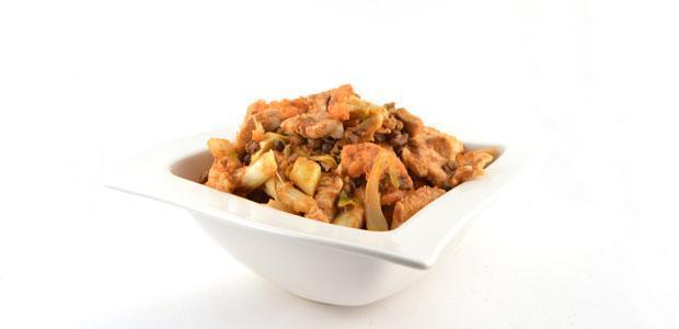 Thaise kipcurry met bloemkool en linzen