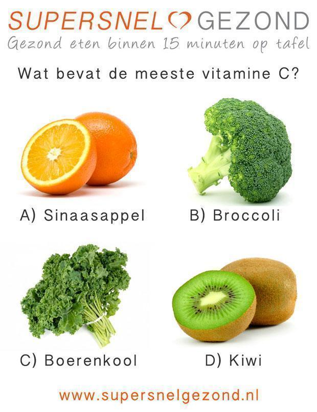 broccoli vitamine c