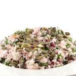 Rauwe bloemkoolsalade