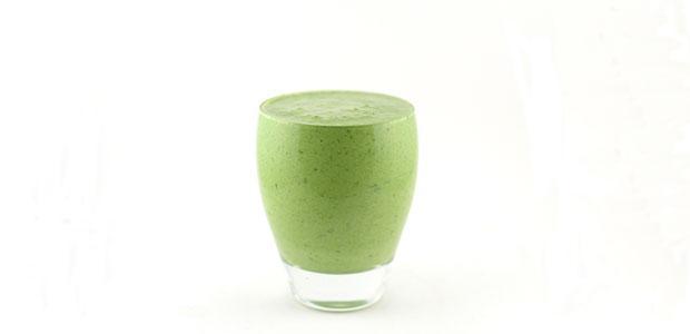 Spinazie komkommer kwark smoothie