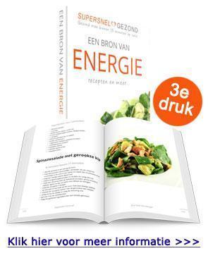 Supersnel Gezond receptenboek Een bron van energie