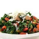 Wokgerecht met boerenkool en kip