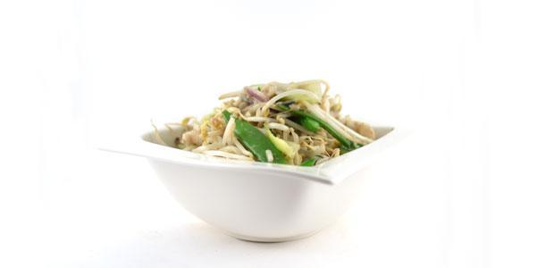 Thaise groene curry met vis