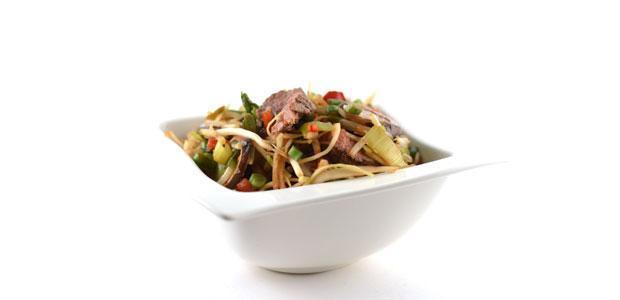 Chinese roerbakmix met biefstuk