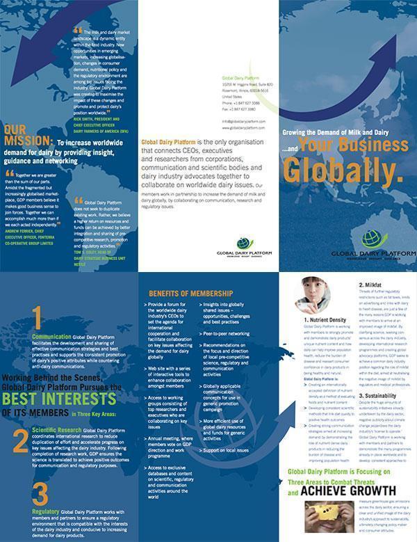 Global Dairy Platform folder