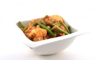 Pittige Indiase groentecurry