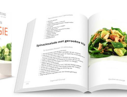 """Bestel Het Receptenboek """"Een Bron Van Energie"""""""