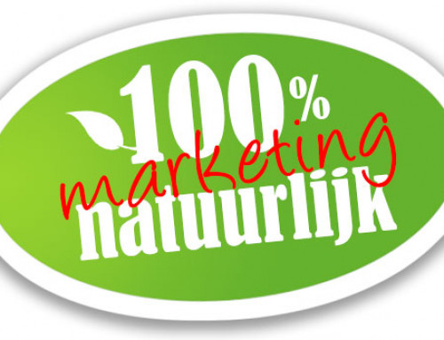 100% natuurlijk is 100% marketing