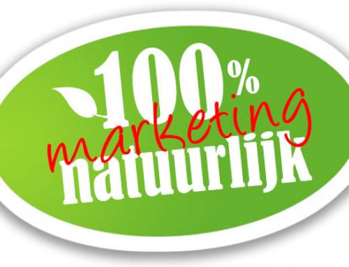 100% natuurlijk is 100% marketing