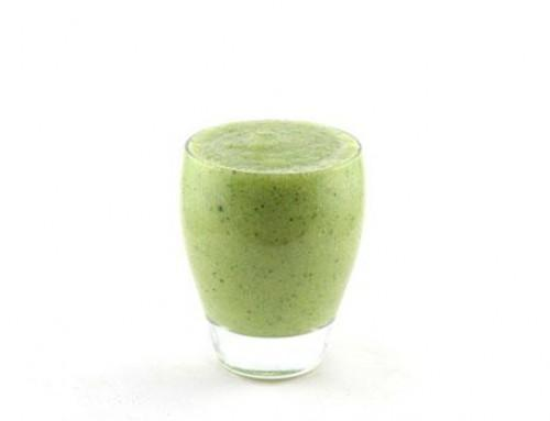 Courgette banaan Galiameloen smoothie