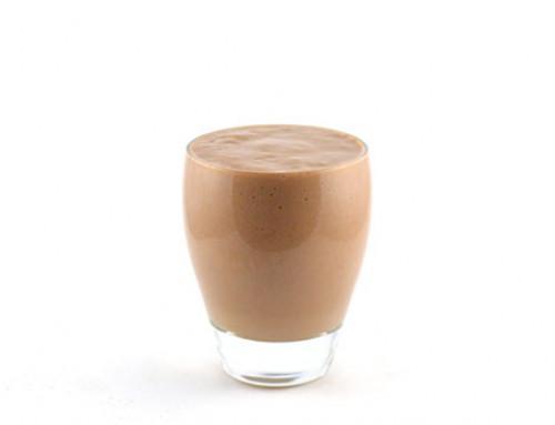 Romige chocola mandarijn smoothie