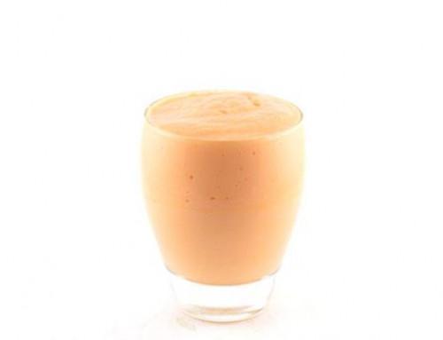 Wortel mango yoghurt kokos smoothie