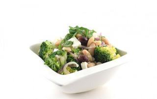 Broccolischotel met feta
