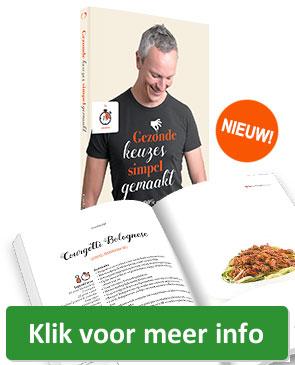 Bestel het receptenboek Gezonde keuzes, simpel gemaakt