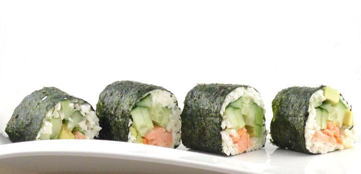 Koolhydraatarme sushi