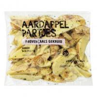 Provençaalse aardappelpartjes met schil