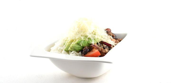 Burrito in a bowl low carb