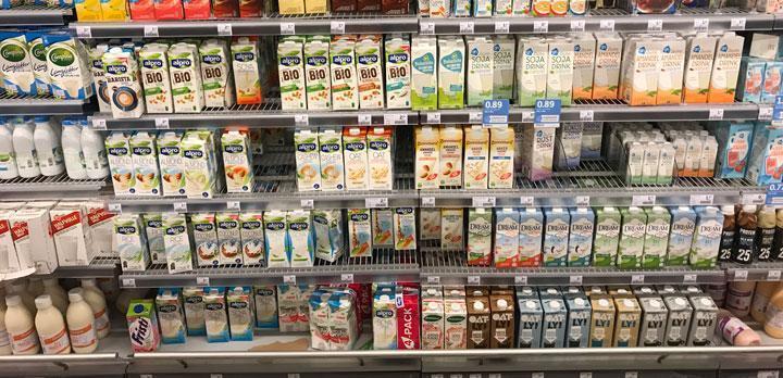 Wat is het plantaardige alternatief voor melk?