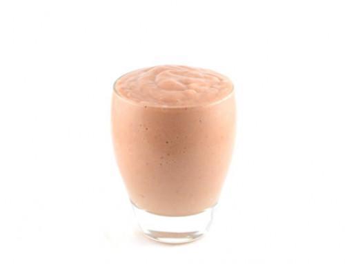 Aardbeien milkshake smoothie