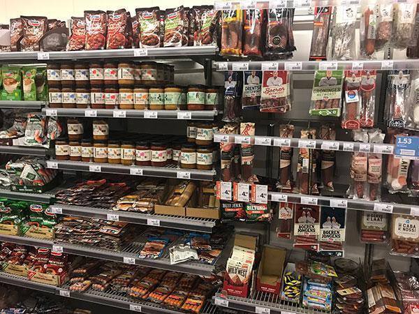 Wat is gezond in de supermarkt en wat niet? Droge worst