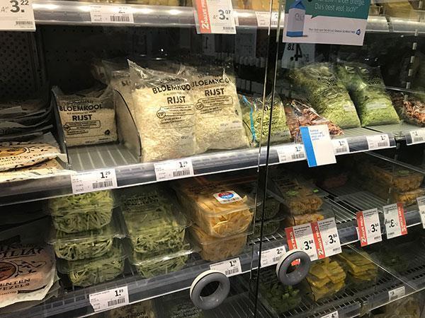 Wat is gezond in de supermarkt en wat niet? Bloemkoolrijst