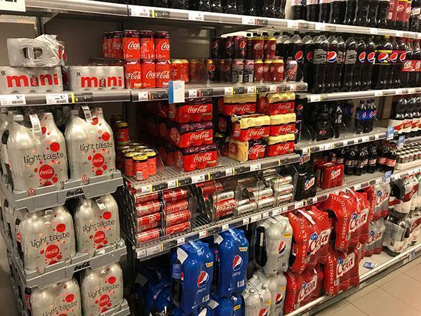 Wat is gezond in de supermarkt en wat niet? Light frisdrank