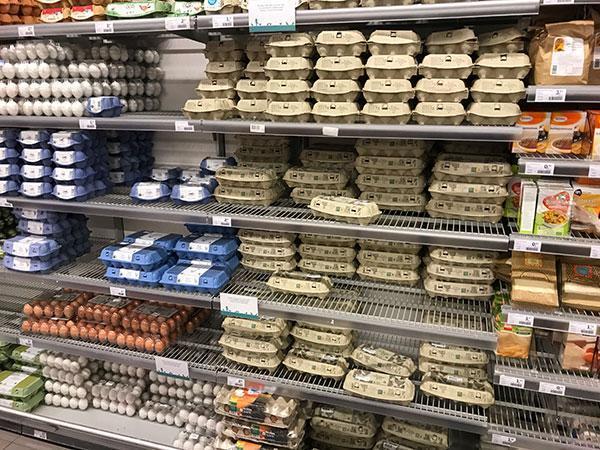 Wat is gezond in de supermarkt en wat niet? Eieren