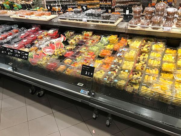 Wat is gezond in de supermarkt en wat niet? Fruit voorgesneden