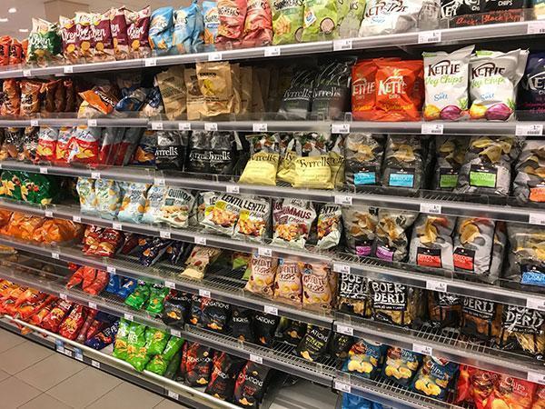 Wat is gezond in de supermarkt en wat niet? Chips