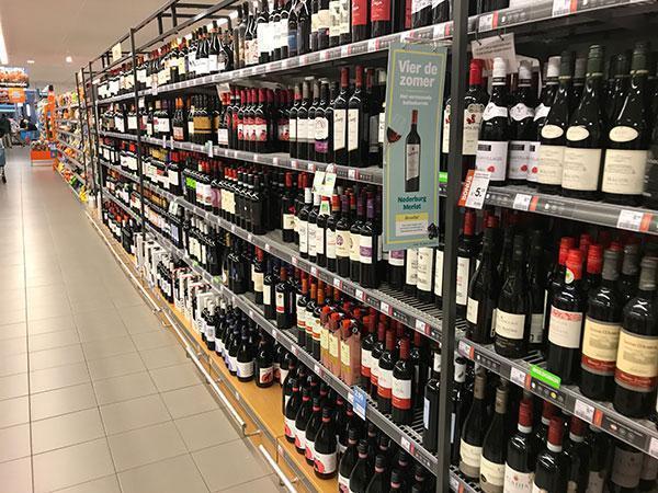 Wat is gezond in de supermarkt en wat niet? Wijn