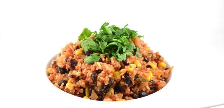 Mexicaanse rijst met bonen