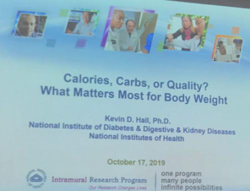 Koolhydraten, calorieën of kwaliteit? Presentatie van Kevin Hall
