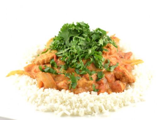 Romige Indiase kip curry (snel, simpel en goddelijk lekker!)