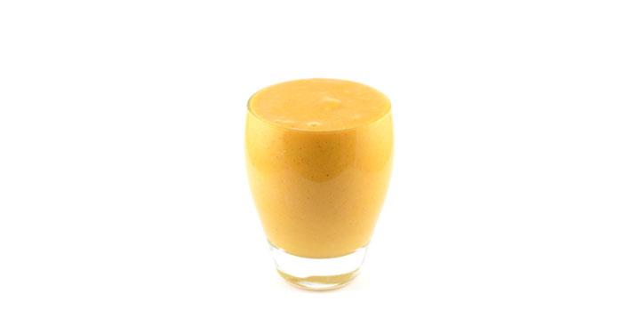 Pompoen wortel druif taart smoothie
