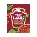 Heinz Tomaten blokjes basilicum & oregano
